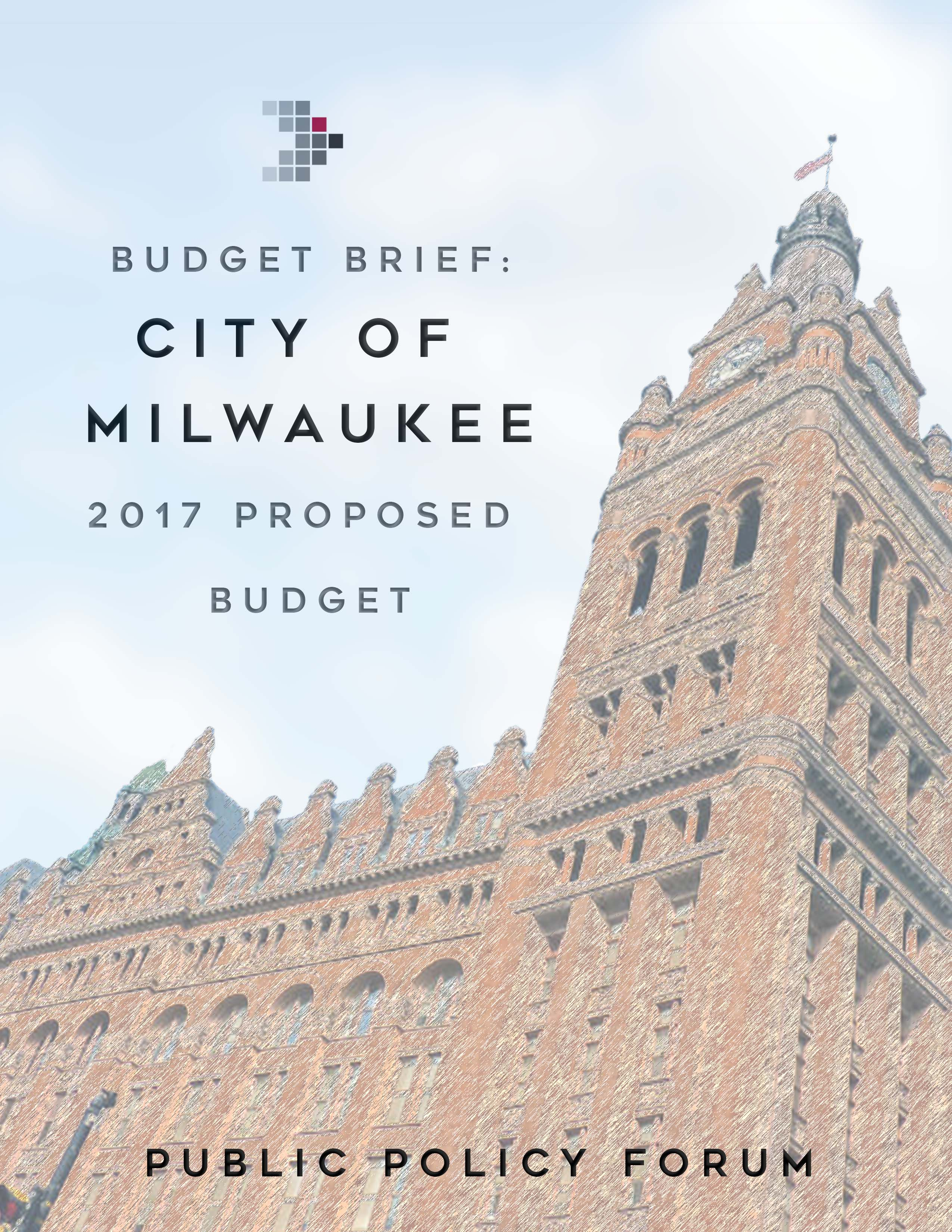 Wisconsin Policy Forum | Budget Brief